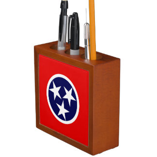 TENNESSEE FLAG DESK ORGANIZER