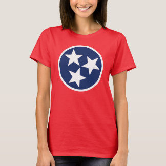Tennessee Flag Emblem T-Shirt