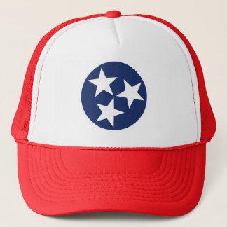 Tennessee Flag Emblem Trucker Hat
