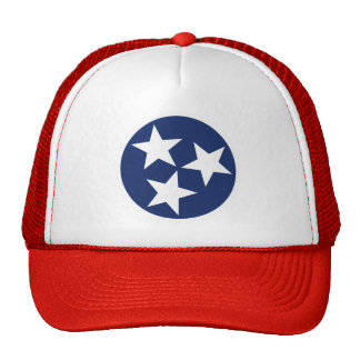Tennessee Flag Emblem Trucker Hat