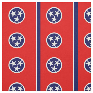 TENNESSEE Flag Fabric