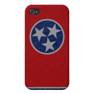 Tennessee Flag iPhone 4 Cover