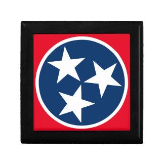 Tennessee Flag Keepsake Box