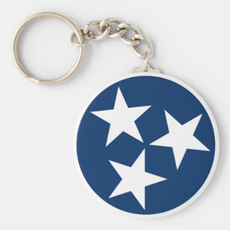 Tennessee Flag Keychain