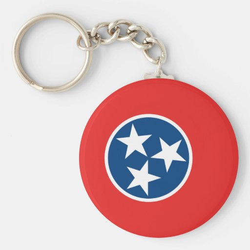 Tennessee Flag Keychain