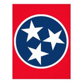 Tennessee Flag Letterhead