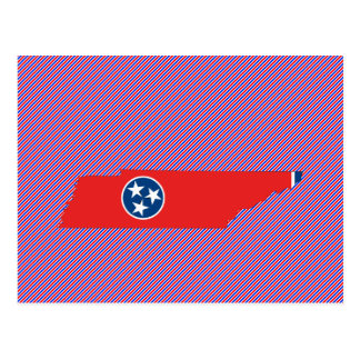 Tennessee Flag Map Postcard