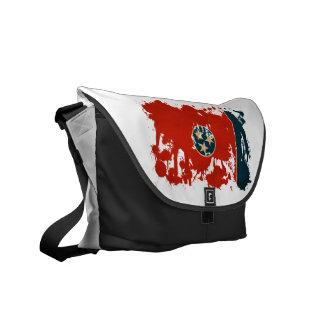 Tennessee Flag Messenger Bag