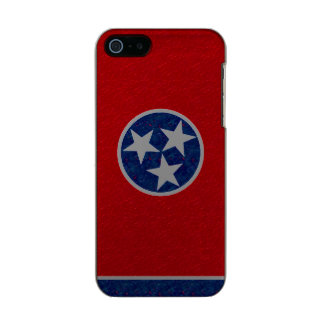 Tennessee Flag Metallic iPhone SE/5/5s Case
