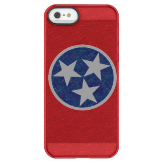 Tennessee Flag Permafrost iPhone SE/5/5s Case
