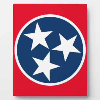Tennessee Flag Plaque