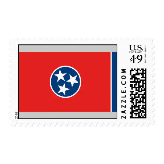 Tennessee Flag Postage Stamp