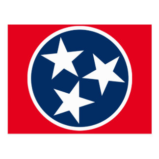 Tennessee Flag Postcard
