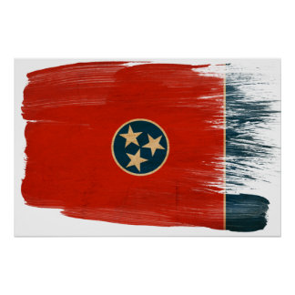 Tennessee Flag Posters