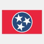 Tennessee Flag Rectangular Sticker