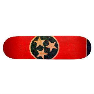 Tennessee Flag Skateboard