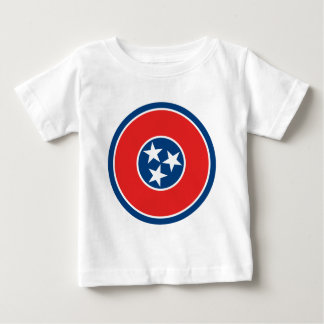 Tennessee Flag Theme 00 Baby T-Shirt