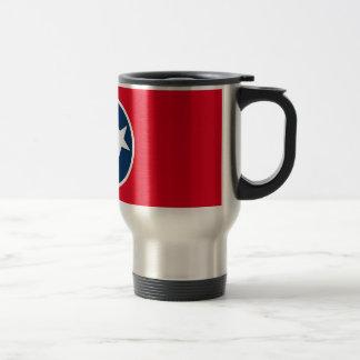 Tennessee Flag Travel Mug