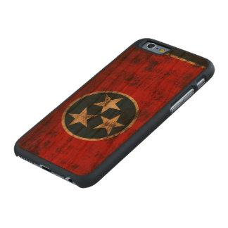 Tennessee Flag Vintage Grunge Carved® Cherry iPhone 6 Slim Case