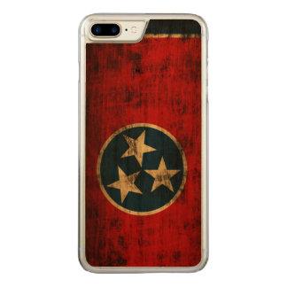 Tennessee Flag Vintage Grunge Carved iPhone 7 Plus Case