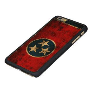 Tennessee Flag Vintage Grunge Carved® Maple iPhone 6 Plus Slim Case