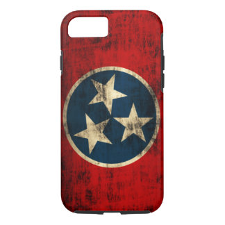 Tennessee Flag Vintage Grunge iPhone 7 Case