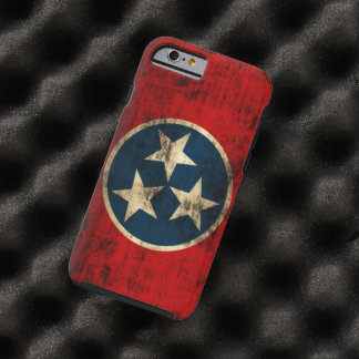 Tennessee Flag Vintage Grunge Tough iPhone 6 Case