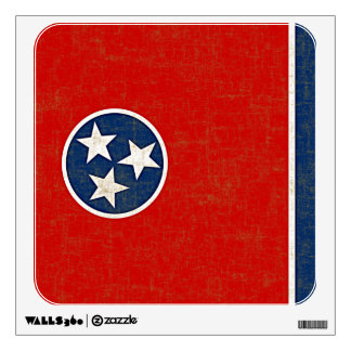 TENNESSEE FLAG WALL STICKER