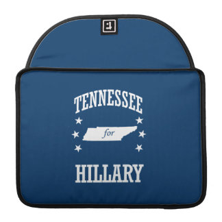 TENNESSEE FOR HILLARY MacBook PRO SLEEVE