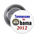 Tennessee for Obama 2012 Pinback Buttons