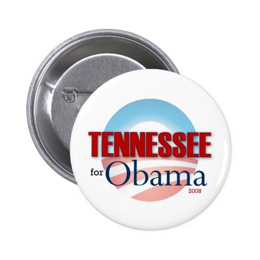 TENNESSEE for Obama Pinback Button
