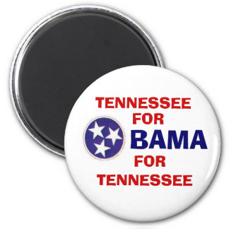 TENNESSEE FOR OBAMA Button Magnet