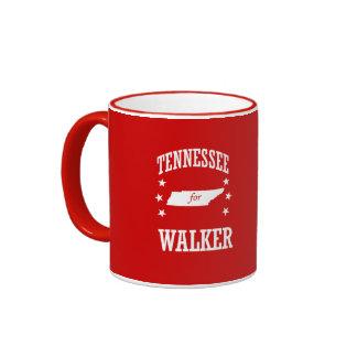 TENNESSEE FOR WALKER RINGER COFFEE MUG