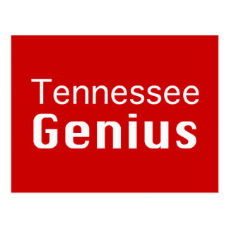 Tennessee Genius Gifts Postcard