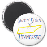 Tennessee - Gettin' Down Fridge Magnet