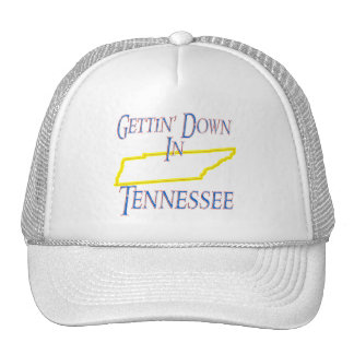 Tennessee - Gettin' Down Mesh Hats