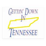 Tennessee - Gettin' Down Postcard