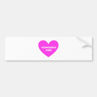 tennessee girl bumper sticker