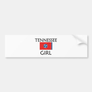 TENNESSEE GIRL BUMPER STICKER