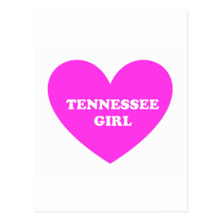 tennessee girl postcard