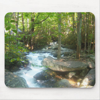 Tennessee Great Smoky Mountains Park scenic view Mouse Pad