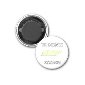 Tennessee Grown 1 Inch Round Magnet