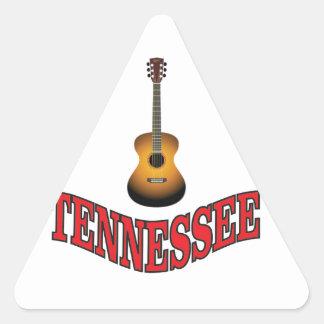 Tennessee Guitar Triangle Sticker