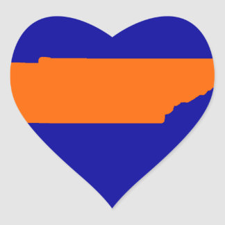 Tennessee Heart Sticker