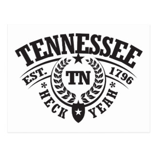 Tennessee, Heck Yeah, Est. 1796 Postcard