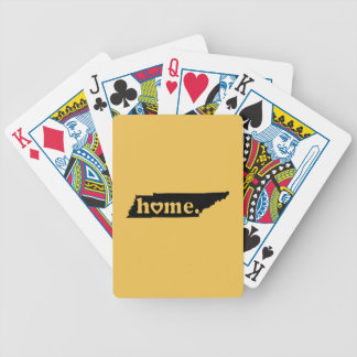 Tennessee Home Bicycle Playing Cards