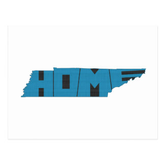 Tennessee HOME State Postcard