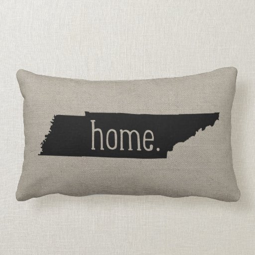 Throw Pillow That Says Home : Tennessee Home State Throw Pillow Zazzle