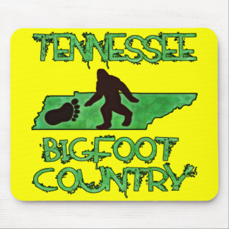 Tennessee Is Bigfoot Country Mouse Pad