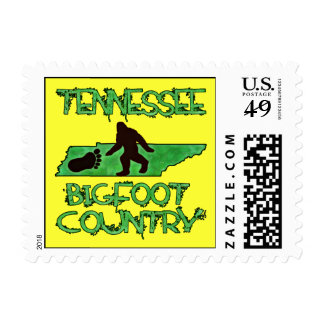 Tennessee Is Bigfoot Country Postage Stamp